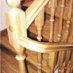 Деревянная лестница для мансарды