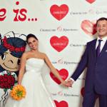 Свадьба для романтиков в стиле Love is