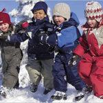 Летом о зимней одежде для детей.