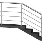 Перила из нержавеющей стали — залог красивого балкона.