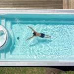 Как изготавливается композитный бассейн?