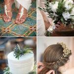 Пышная и роскошная свадьба в греческом стиле