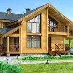 Преимущества и виды домов из бруса