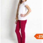 Красивые джинсы в гардеробе девочки