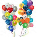 Выйдет праздник будь здоров с разноцветием шаров
