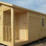Преимущества установки домика – бытовки для дачного отдыха