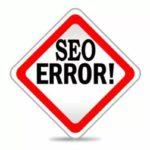 Ошибки продвижения сайта